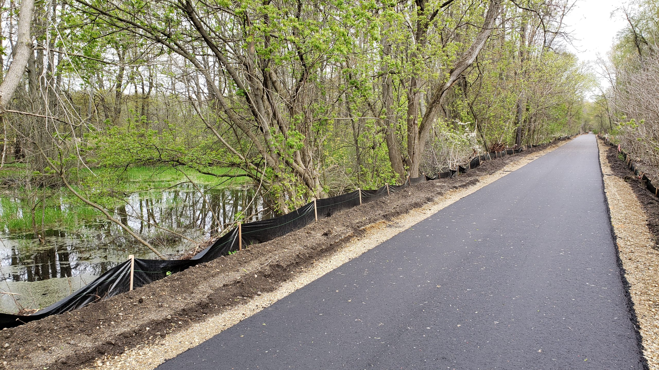 Recreation Area paved trail extension