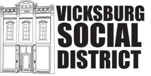 Vicksburg social district logo